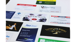 Business Card Round Corners